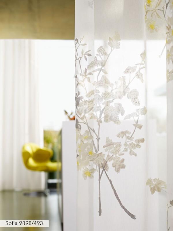 Sofia Sunshine Voile Curtain